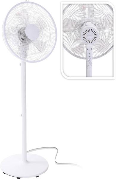 Staande ventilator - metaal - 3 standen
