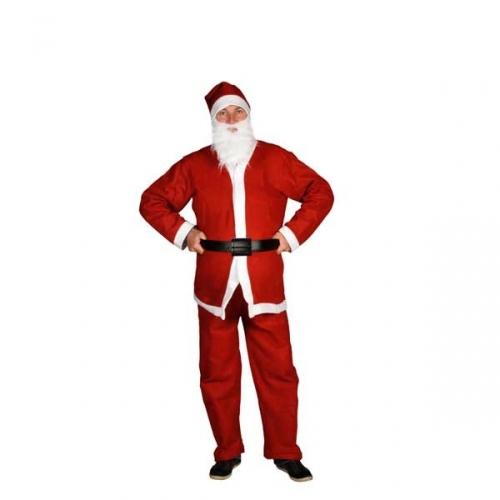 Universeel 5 delig kerstmannen pak