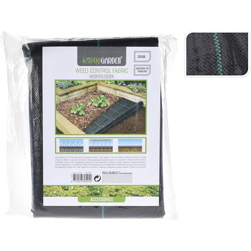 Anti-worteldoek - 2x5m - 100gr/m2
