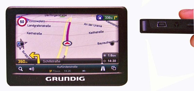 Een grundig navigatiesysteem vanaf 75 euro