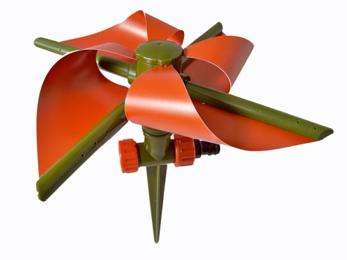 Tuinsproeier model molen set van 2 stuks
