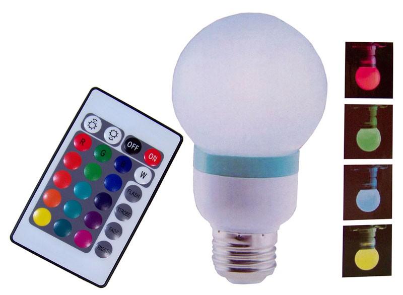 Sfeerlamp met AB (colorchanging)