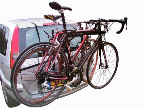 Fietsendrager. Neem uw fiets mee op vakantie.