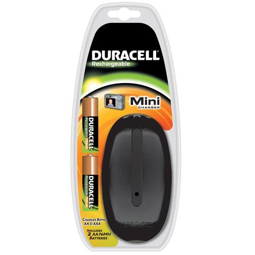 Duracell oplader met batterijen