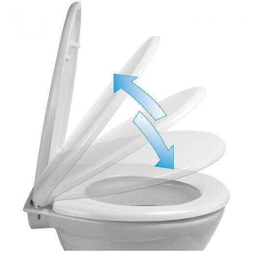 Toiletbril soft close