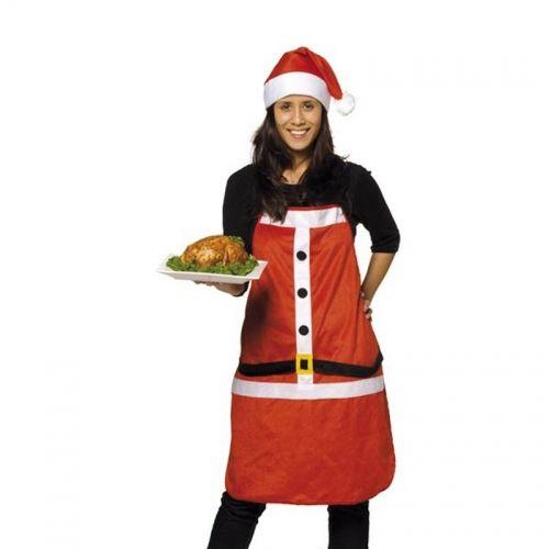 schort en kerstmuts