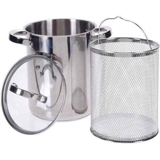Aspergepan met glazen deksel - 4.2 liter