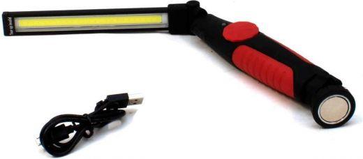 Oplaadbare looplamp met dimmer en magnetisch