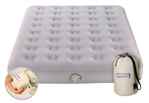 Aerobed Comfort Classic Double luchtbed (2 persoons) met pomp