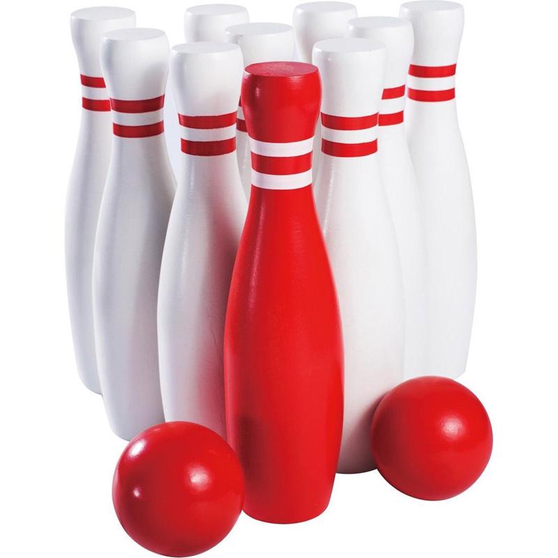 Bowlingspel XL - 23cm - hout