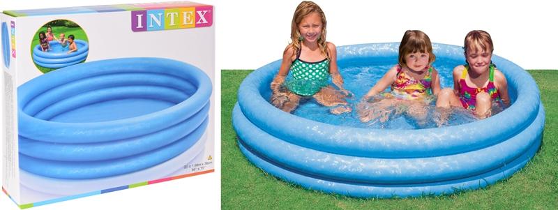 Kinderzwembad 3 rings - 168cm opblaasbaar
