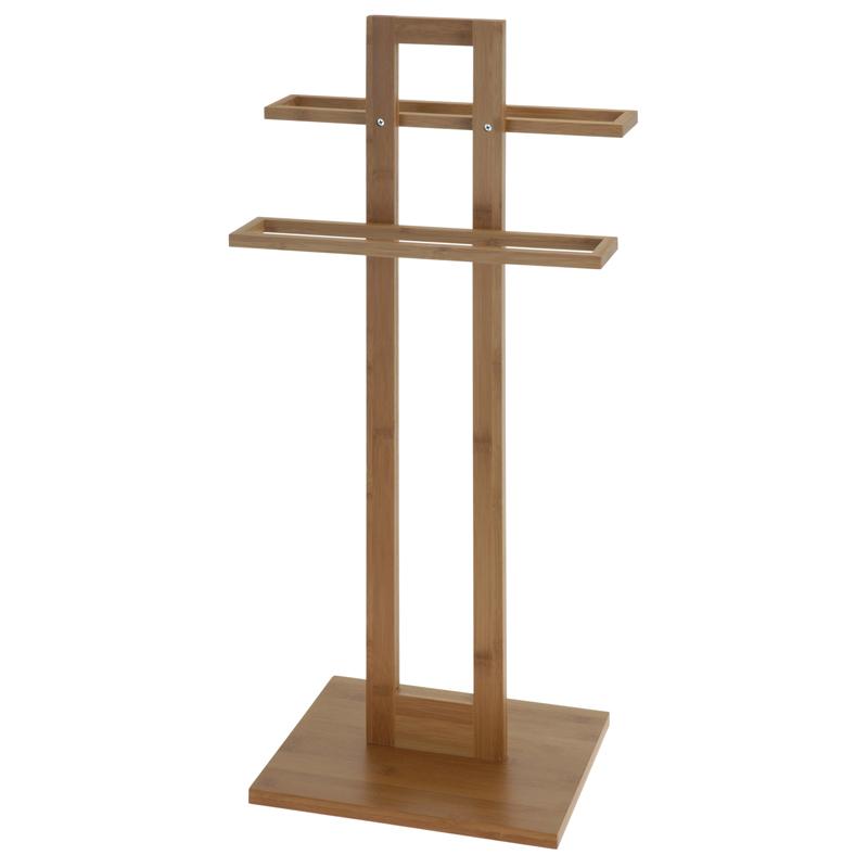 Handdoekhouder - bamboe