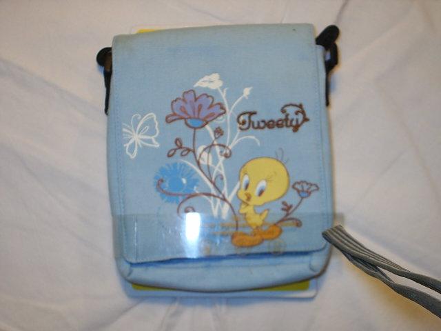 tweety tas, lichtblauw
