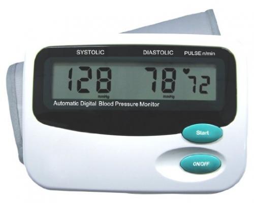 Volautomatische digitale bovenarm bloeddrukmeter
