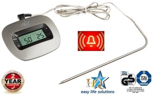Digitale oventhermometer met alarm