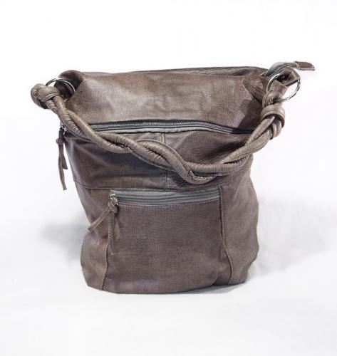 design Dames handtas donker bruin