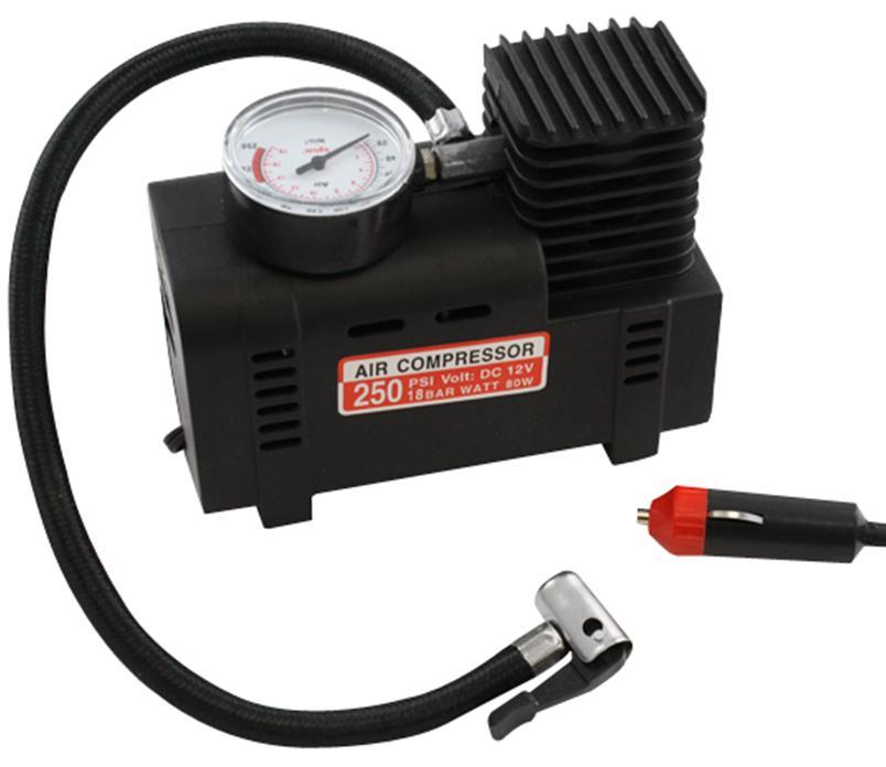 Handige mini compressor 12V