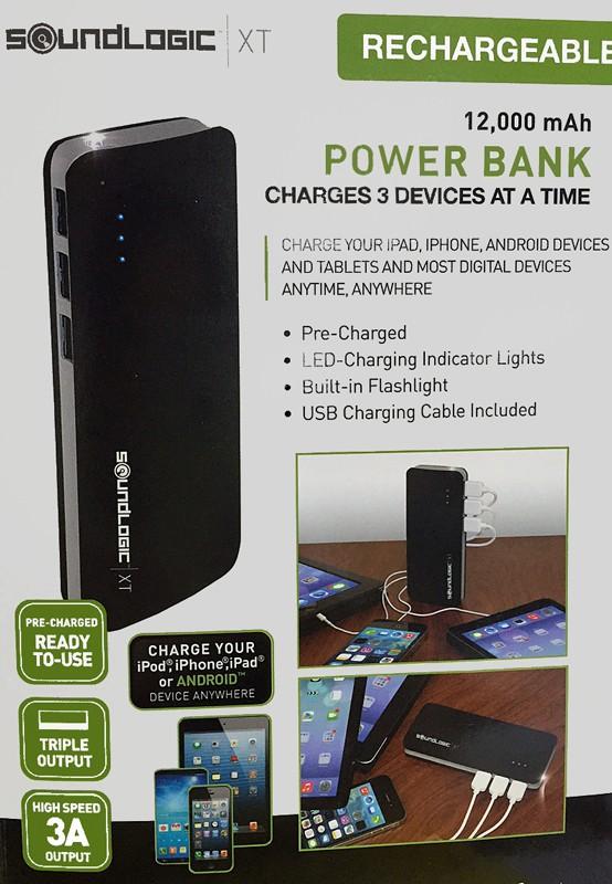 3 apparaten tegelijk opladen op accu - volgende generatie powerbanks