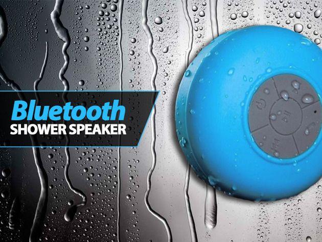 Bluetooth speaker waterproof voor douche en bad