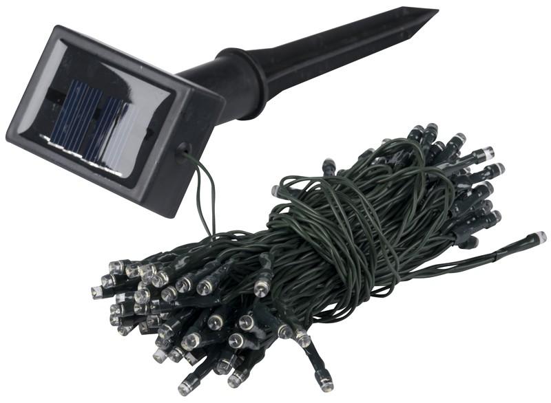 Solar snoerverlichting (100 LED's)