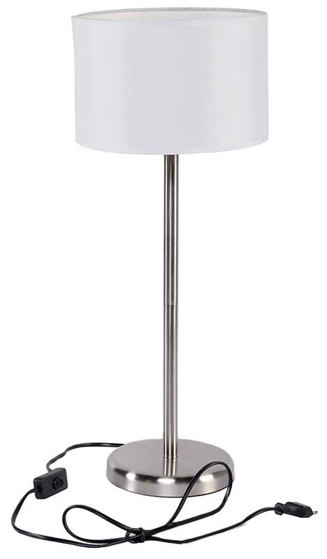 Grundig Roestvrijstalen tafellamp (58cm)